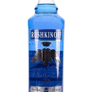 Vodka Rushkinoff Color Azul 1 Litro