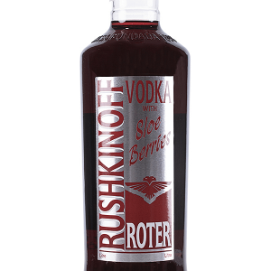 Vodka Rushkinoff Roter Berriers 1 Litro