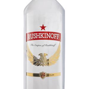 Vodka Rushkinoff 30 Grados Plástico 1 Litro
