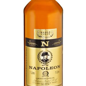 Brandy Napoleón Plástico Redonda 1 Litro