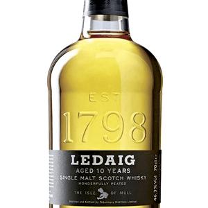 Whisky Ledaig 1798 10 Años 70cl