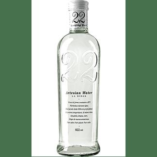 Agua Artesian 22 con Gas 82cl Caja 12 Botellas