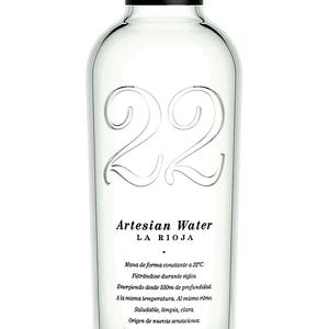Agua Artesian 22 sin Gas 52cl Caja 20 Botellas