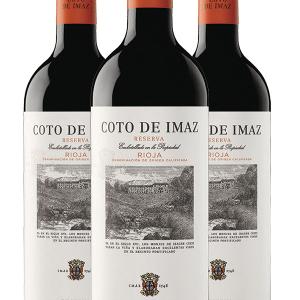 Lote Coto de Imaz Tinto Reserva 3 Botellas 75cl