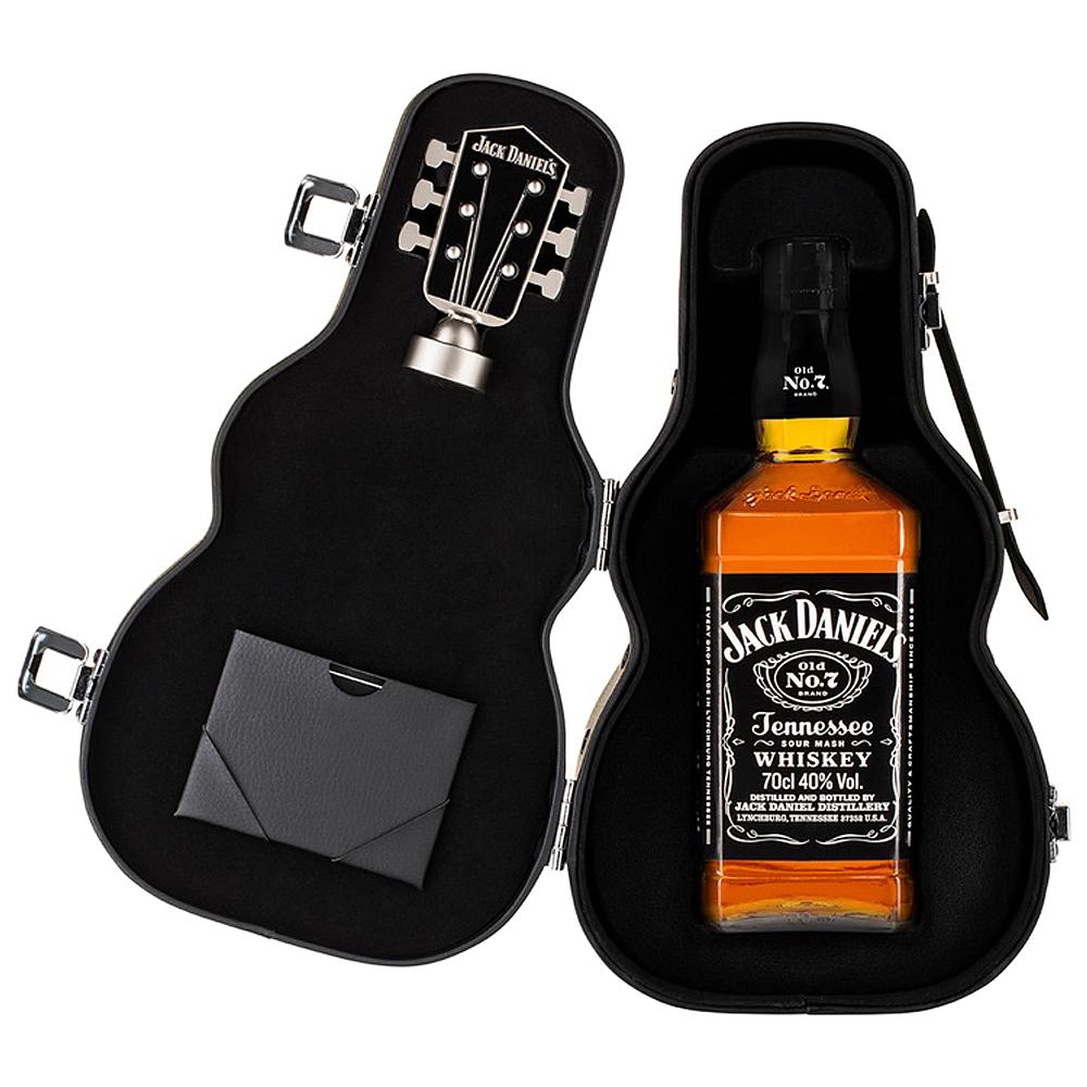 Bourbon Jack Daniel´s 70cl + Estuche Guitarra