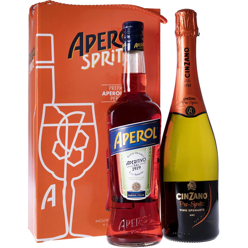 Pack Aperol Barbieri 70cl + Prosecco Cinzano Prospritz 75cl