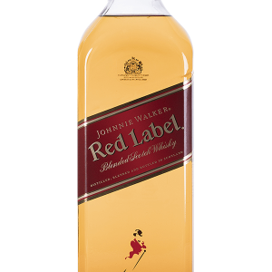 Whisky Johnnie Walker Red Label sin Dosificador 1 Litro