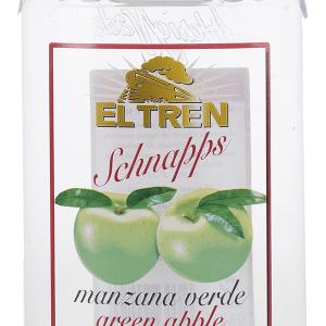 Chupitp Manzana Verde Petaca Plástico 35cl