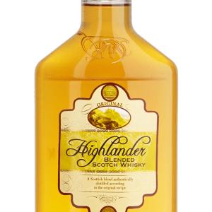 Whisky Highlander Petaca Plástico 35cl