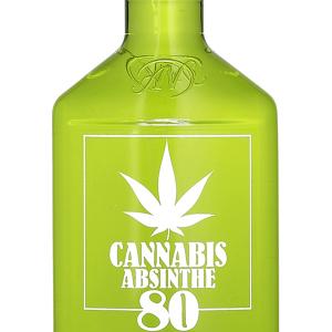 Absenta 80 Cannabis Petaca Plástico 35cl