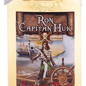 Ron Capitán Huk Spiced Petaca Plástico 35cl