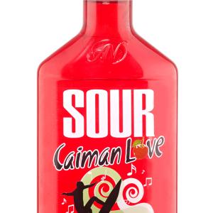 Licor Sour Caimán Love Cherry Petaca 35cl