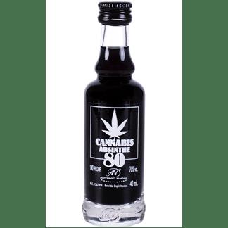 Absenta 80 Cannabis Black Miniatura 4cl