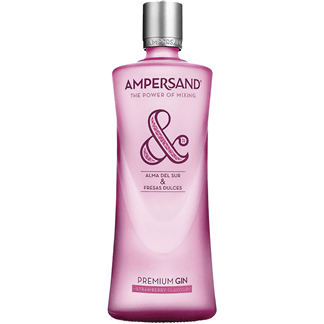 Gin Ampersand Pink 70cl