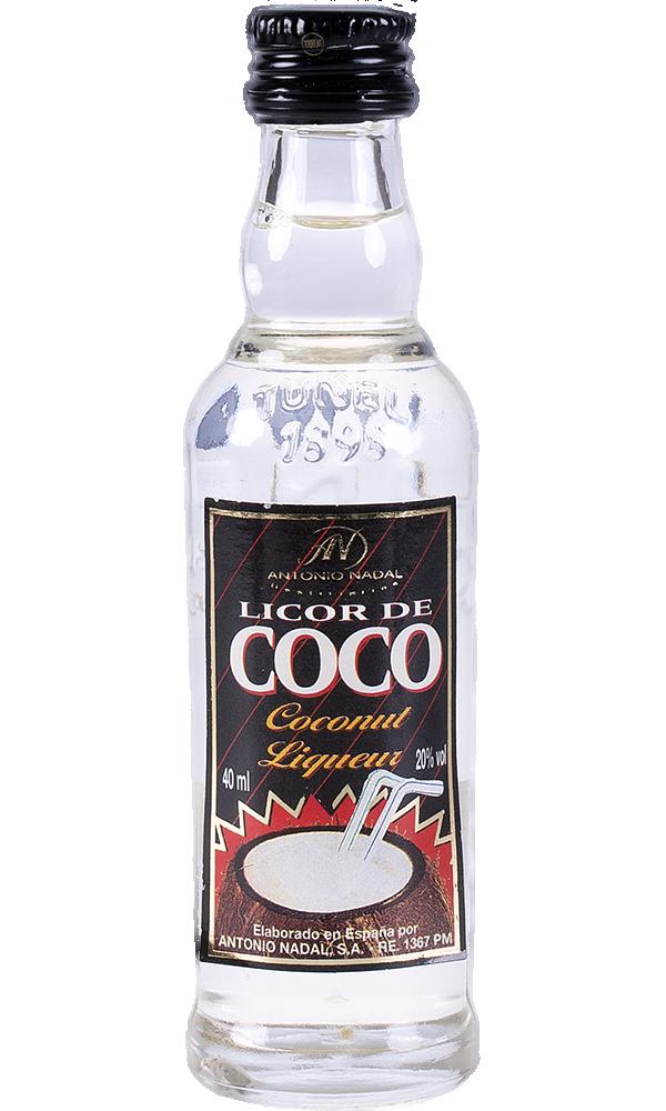 Licor Ban Coco Miniatura 4cl