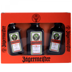 Jägermeister Pack 3 Miniaturas 2cl