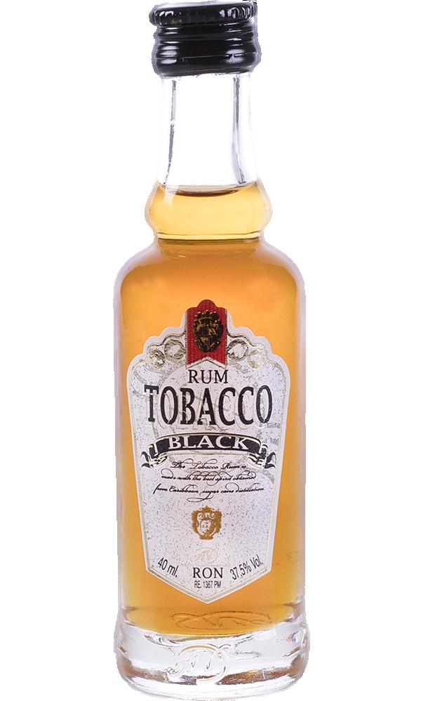 Ron Tobacco Blak Miniatura 4cl