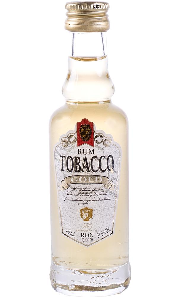 Ron Tobacco Oro Miniatura 4cl