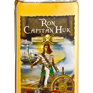 Ron Capitán Huk Spiced Petaca Plástico 1 Litro