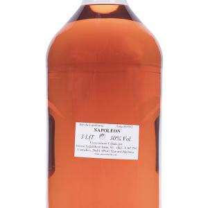 Brandy Napoleón 30 Grados Plástico 3 Litros