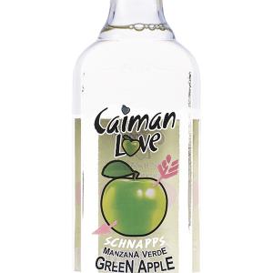 Licor Caimán Love Green Apple Transparente 70cl