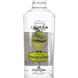 Licor Tropical Caimán Manzana Verde sin Alcohol 1 Litro