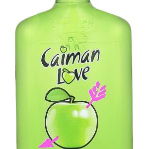 Licor Caimán Love Manzana Verde Petaca 20cl