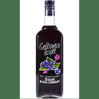 Licor Sour Caimán Love Black Currant 70cl