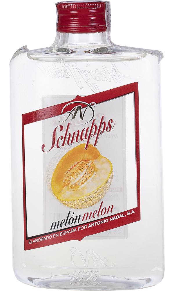 Chupito Melon Petaca Plastico 35cl