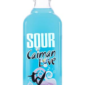 Licor Sour Caimán Love Blue Tropical 70cl