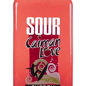 Licor Sour Caimán Love Cherry Petaca 1 Litro