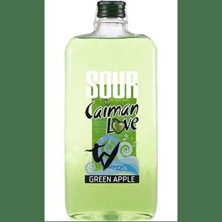 Licor Sour Caimán Love Manzana Verde Petaca 1 Litro