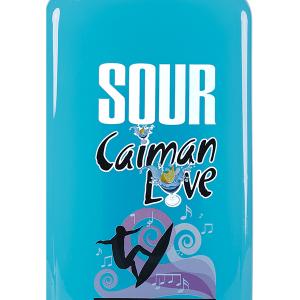 Licor Sour Caimán Love Tropical Blue Petaca 1 Litro