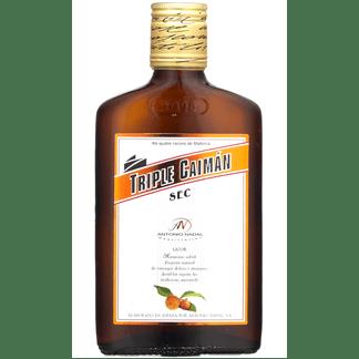 Licor Triple Seco Caimán Petaca 20cl
