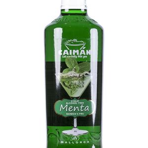 Jarabe Caimán Menta sin Alcohol 1 Litro