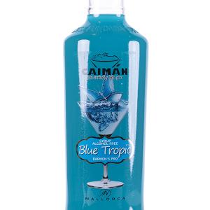 Jarabe Caimán Blue sin Alcohol 1 Litro