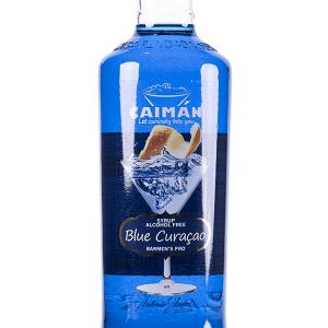 Jarabe Caimán Blue Curaçao sin Alcohol 1 Litro