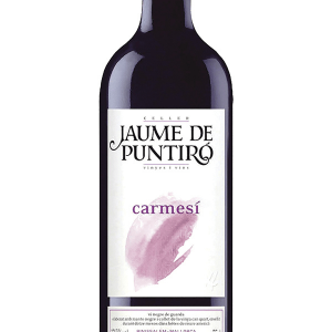Jaume de Puntiró Carmesí Tinto Crianza 75cl