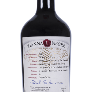 Tianna 1 Negre Callet The Sommelier Collection Tinto 75cl