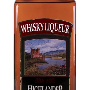 Licor de Whisky Highlander Petaca 1 Litro