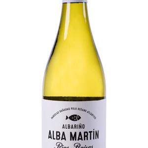 Alba Martín Blanco Albariño 75cl