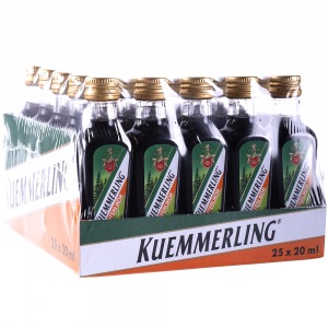 Licor Kuemmerling Pack 25 Botellines 20cl