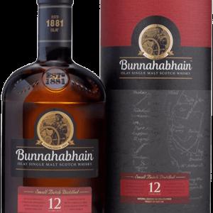 Whisky Bunnahabhain 12 Años Malta 70cl