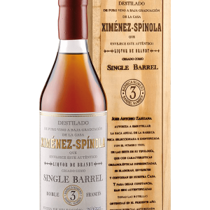 Brandy Ximenez Spinola Single Barrel 70cl