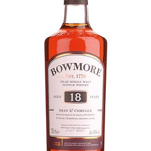 Whisky Bowmore 18 Años