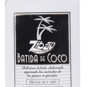 Batida Zibao Coco Petaca Plástico 35 cl