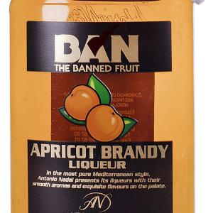 Licor Apricot Brandy Petaca Plástico 35cl