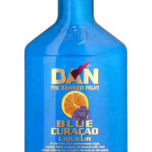 Licor Ban Blue Curaçao Petaca Plástico 35cl