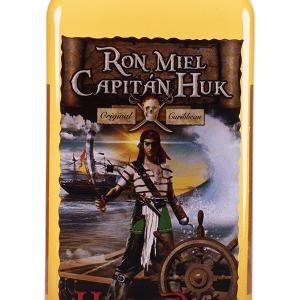 Ron Capitán Huk Miel Plástico 1 Litro