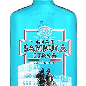 Sambuca Itaca Blue Petaca 20cl